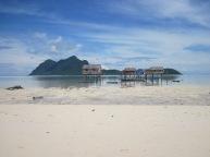 Bajau Laut Stilt Houses, Maiga Island, Semporna