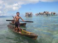 Bajau Laut, Pulau Gaya, Semporna