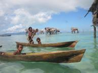 Bajau Laut Children, Pulau Gaya, Semporna