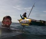 Sama Dilaut fisherman, Davao,Philippines
