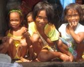 Sama Dilaut Children, Davao, Philippines