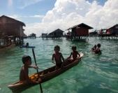 Sama Dilaut Children, Omothel, Malaysia