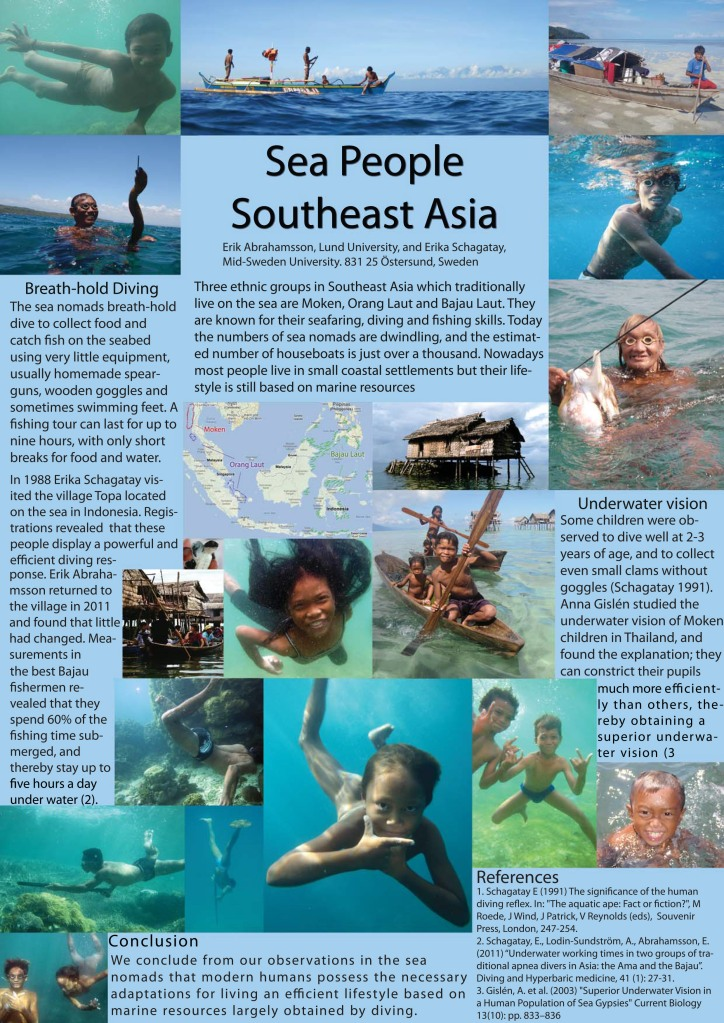 Poster About Sea Nomads In Southeast Asia