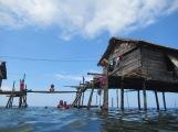 Bajau stilt house, Sulawesi, Indonesia