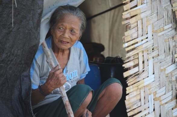 Bajau woman, Sanpela, Wakatobi, Indonesia