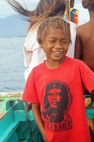 Sama Dilaut boy, Davao City, Philippines