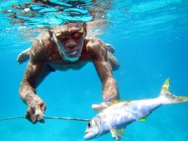 Sama Dilaut fisherman, Tadi, Sampela, Indonesia