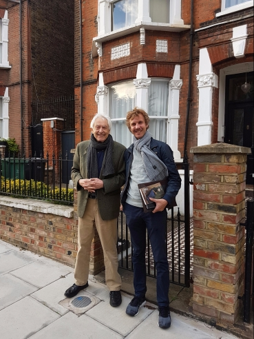 Michel Odent and Erik Abrahamsson, London, October 2017