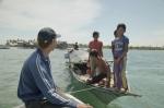 Boat Living Sama Dilaut at Omadal Island, Semporna,Malaysia