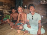 Elderly Bajau Laut Man in Marombo, Lasolo