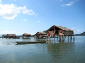Sama Dilaut Stilt Houses, Pulau Meong, Sulawesi, Indonesia