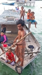 Bajau Laut Houseboat near Bodgaya, Semporna,Malaysia