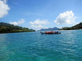 On the Way Home - Bajau Laut Houseboat near Bodgaya, Semporna, Malaysia